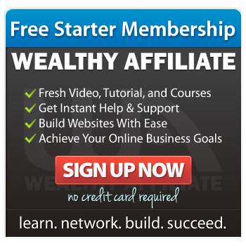 Free starter membership. Wealthy Affiliate. Fresh video, tutorial and coursers. Get instant help and support; build websites with ease; Achieve you online business goals. Sign Up Now. no credit card required. Learn, Network, Build, Succeed.