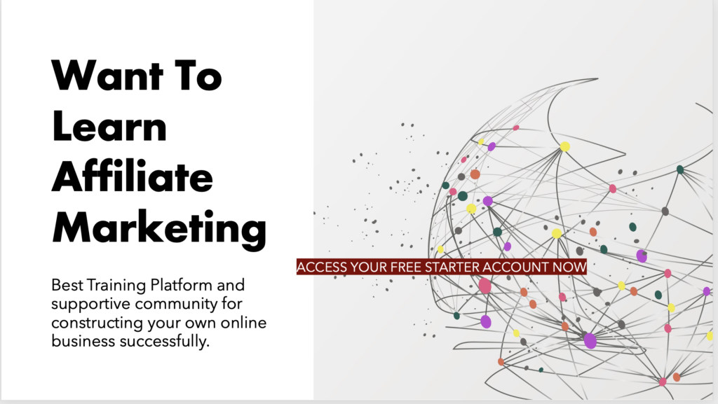 Want to learn affiliate marketing. Best training platform and suppotive community for construction your own online business successfully.
