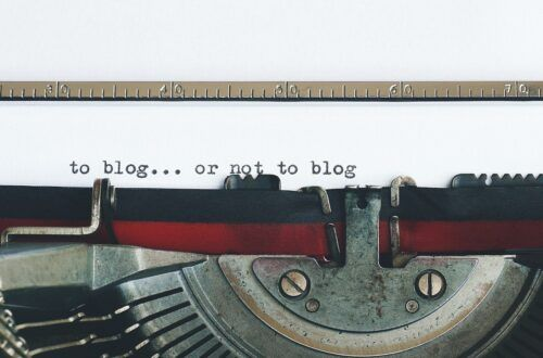 Blog....or not to blog
